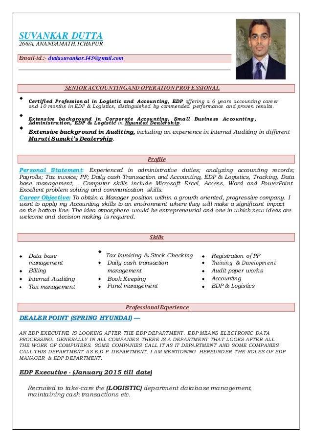 resume logistic
