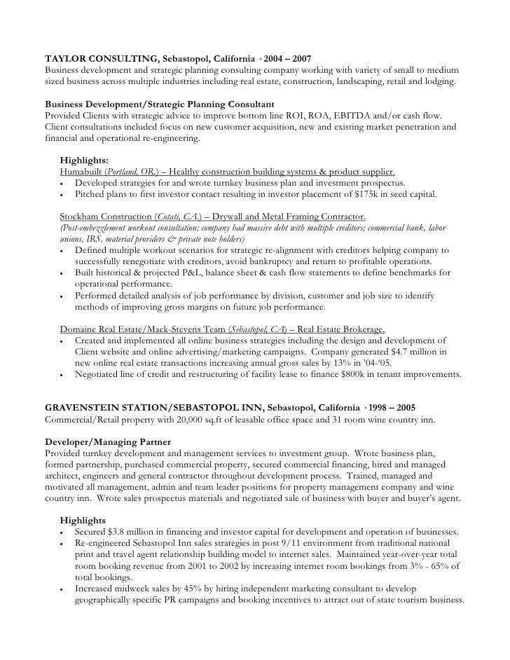 Attractive Country Estate Management Resume Crest - Administrative ...