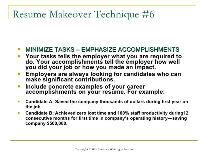 resume makeover strategies visualcv