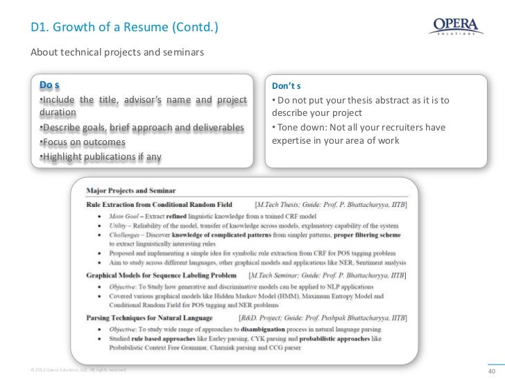 how to include project work in resume professional user manual