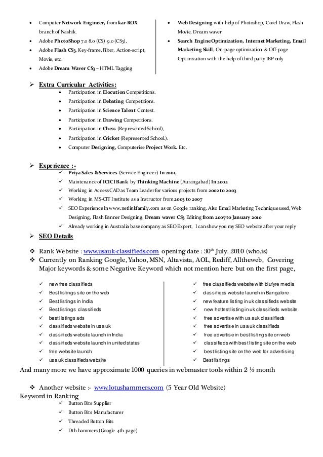 Expert Resume Images - free resume templates word download