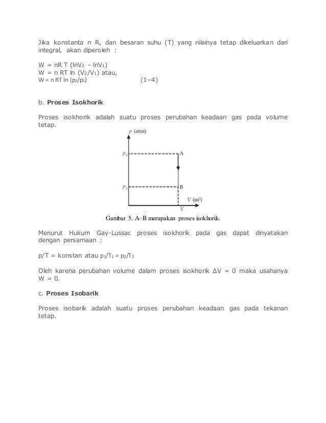 Resume materi termodinamika 5 ccuart Choice Image