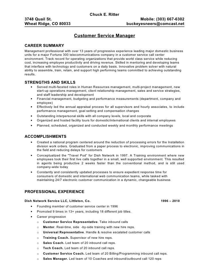 call center resume format - Customer Service Resume Samples Free