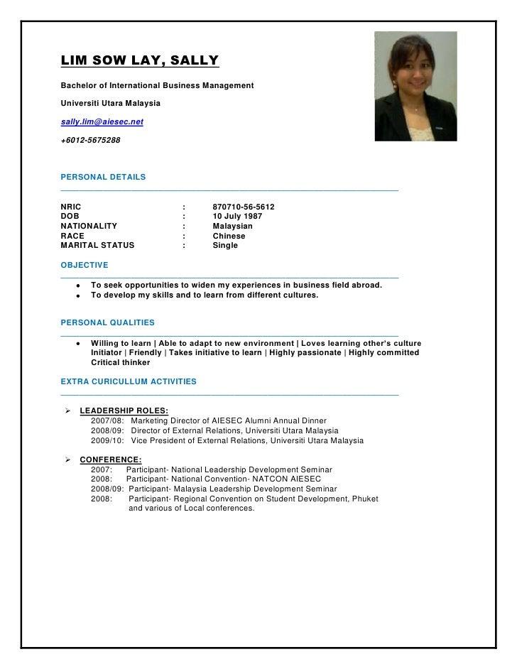 LIM SOW LAY, SALLY<br />Bachelor of International Business Management  <br />Universiti Utara Malaysia <br />sally.lim@aie...