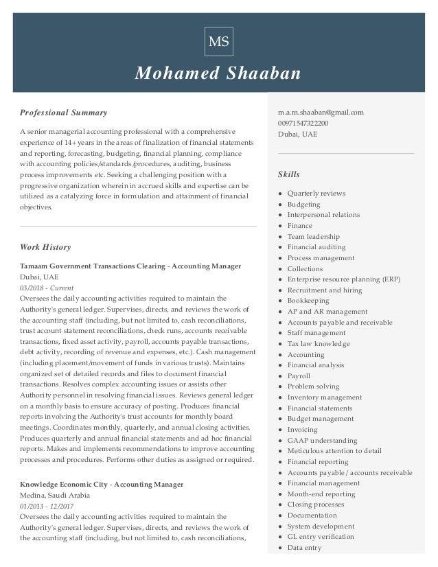 Resume Mohamed Shaaban