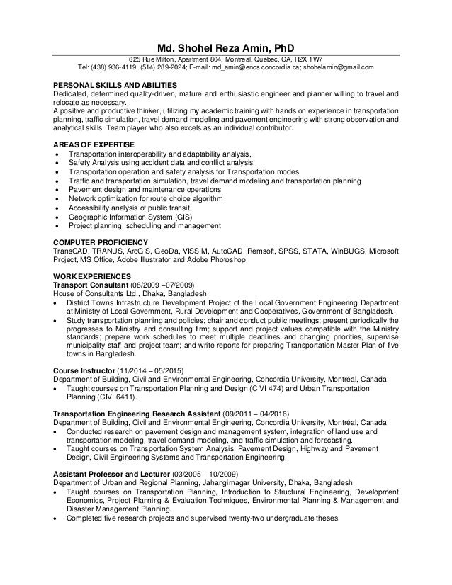 Fantastic Montreal Accounting Resume Model - Administrative Officer ...