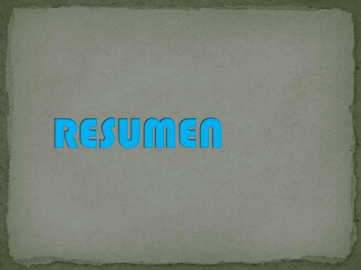 RESUMEN<br />