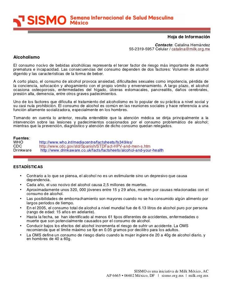 Hoja de Información                                                                             Contacto: Catalina Hernánd...