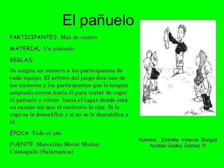 Recopilacion De Juegos Tradicionales Por Alumnos As De 3º De Primaria