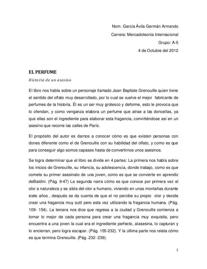 Nom. García Ávila Germán Armando                                              Carrera: Mercadotecnia Internacional        ...