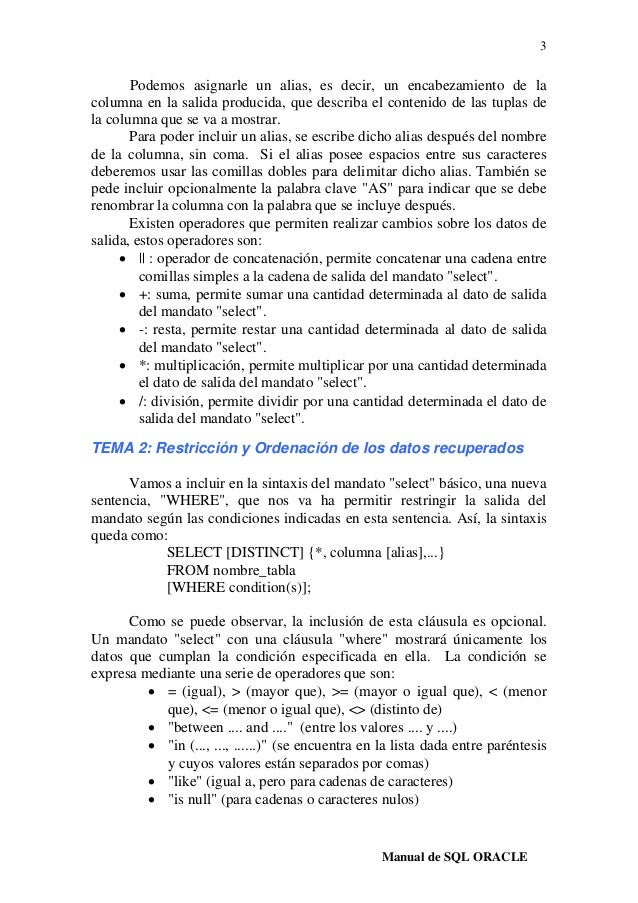 Resumen sql-oracle Slide 3