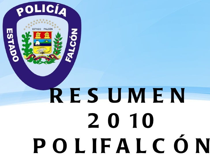 RESUMEN  2010 POLIFALCÓN
