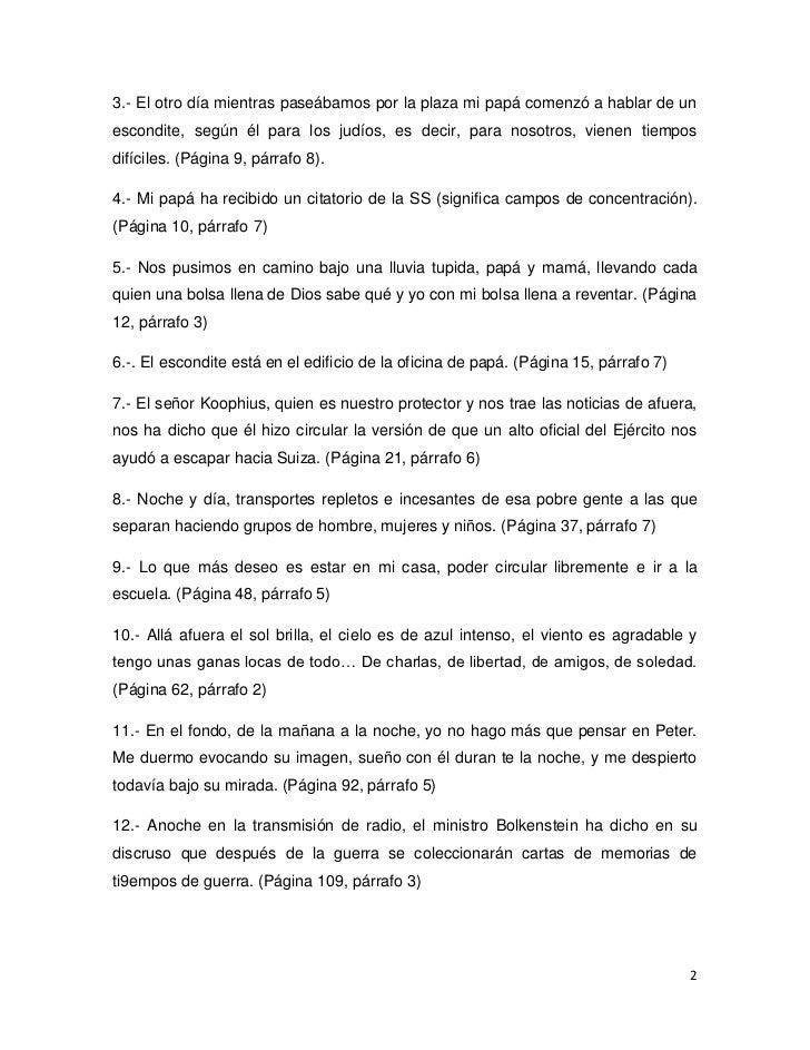 Resumen Ana Frank