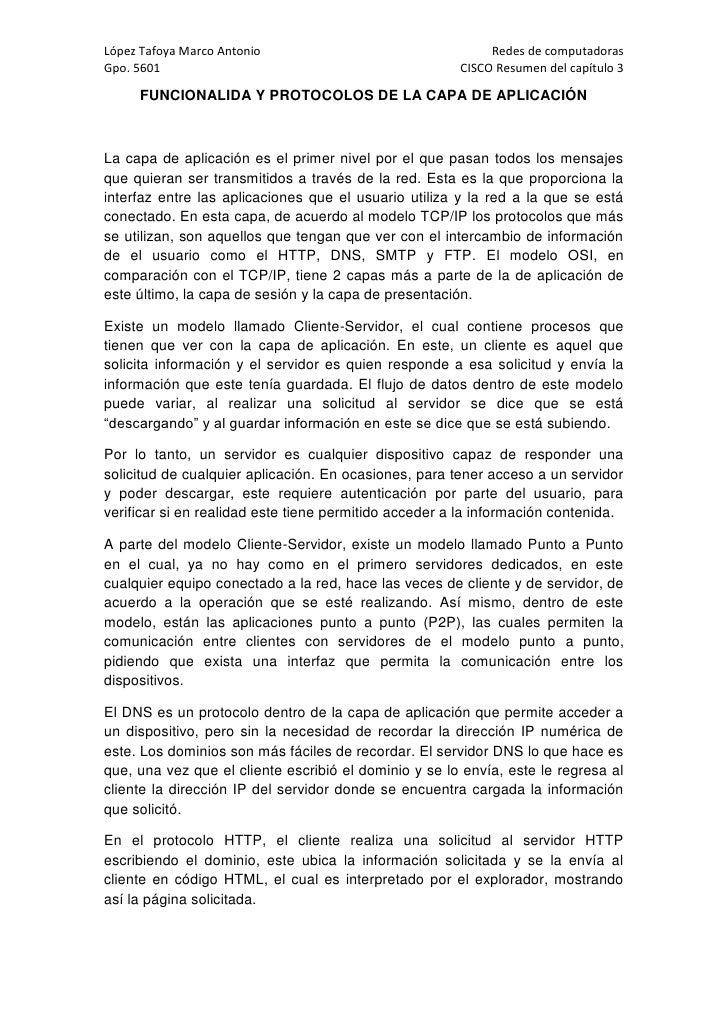 López Tafoya Marco Antonio                                  Redes de computadoras Gpo. 5601                               ...