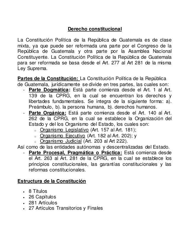 Resumen Constitucional Para Examen Fase Publica