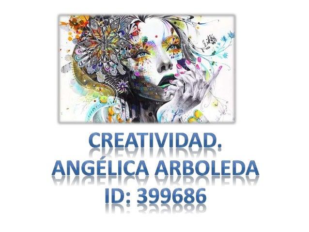 Creatividad. 1. Facultad de crear. 2. Capacidad de creación. Latín creare: crear tener, hijos