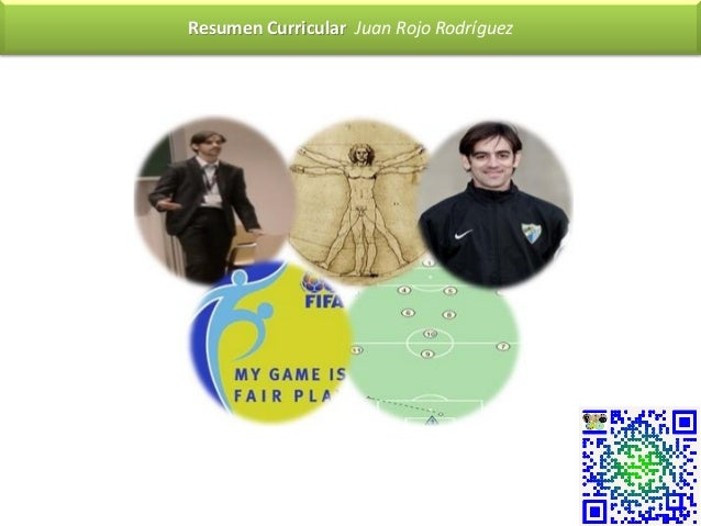Resumen Curricular Juan Rojo Rodríguez
