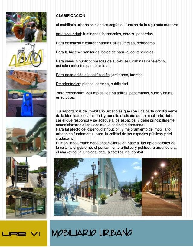 resumen de componentes urbanos