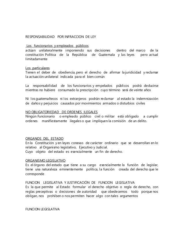 Resumen De Derecho Constitucional Guatemalteco