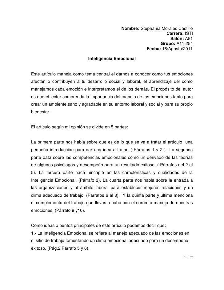 Nombre: Stephania Morales Castillo<br />Carrera: ISTI<br />Salón: A51<br />Grupo: A11 254<br />Fecha: 16/Agosto/2011<br />...