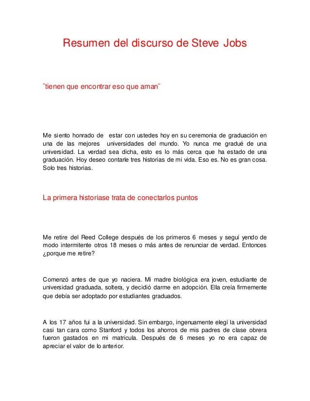 4145b00d1b9 ... Steve Jobs Bogotá D.C; 2. Resumen del discurso ...