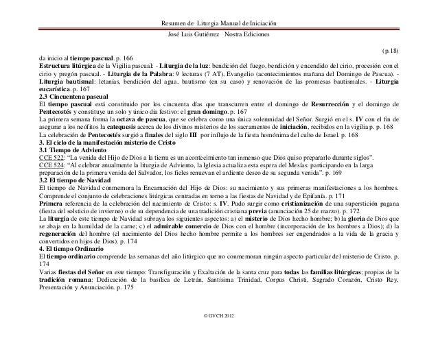 resumen de liturgia manual de iniciacion jose luis