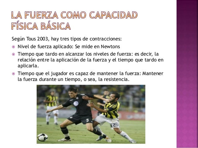 La mayoría de acciones en el fútbol tienen una aplicación de fuerza sub-máxima dónde la precisión y la adecuación tempor...