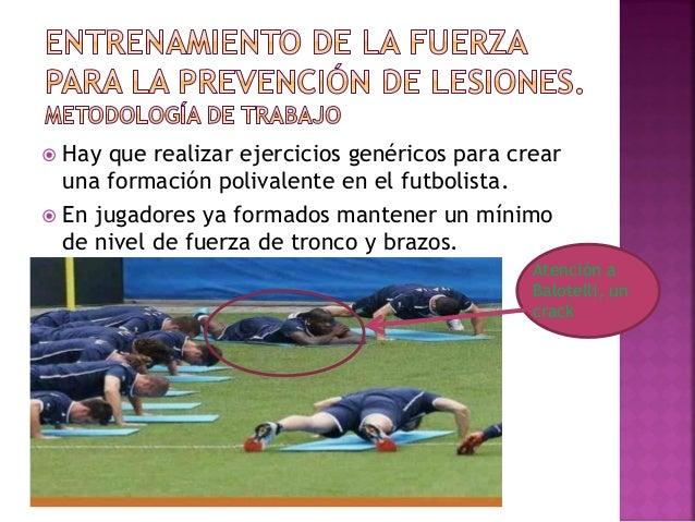  Ejercicios en fase excéntrica si queremos trabajar la potencia muscular con realizar 3x15 repeticiones rápidas bastará.