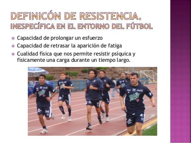  ¿Cómo podemos pensar que la realización de esfuerzos que nada o poco tienen que ver con lo que se da en el fútbol van a ...