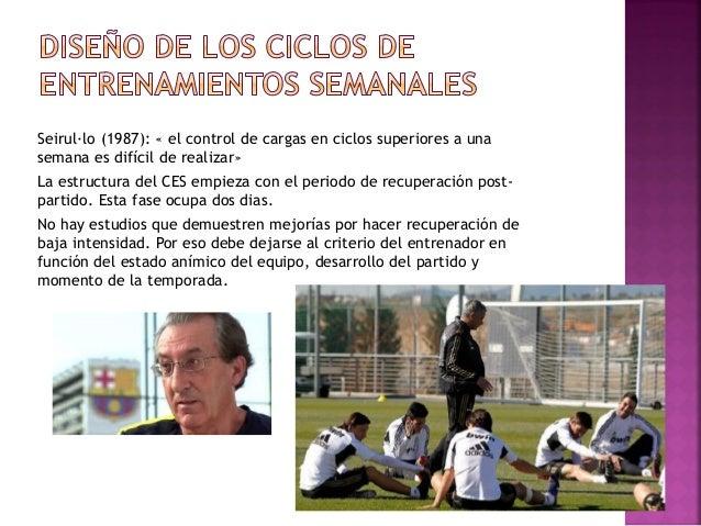 El entrenador solo puede facilitar que los jugadores tengan unos comportamientos determinados a partir de lo que propone e...