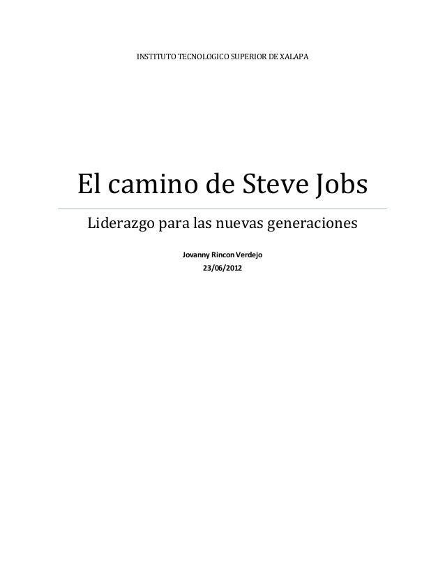 resumen del libro de steve jobs