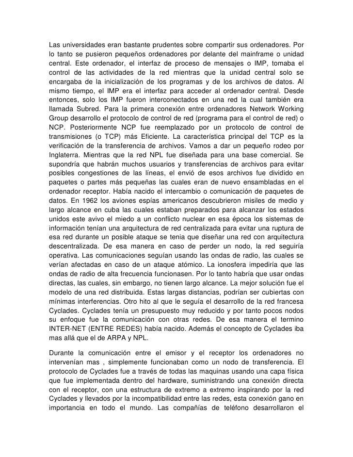 Resumen Del Origen Del Interntet Slide 3