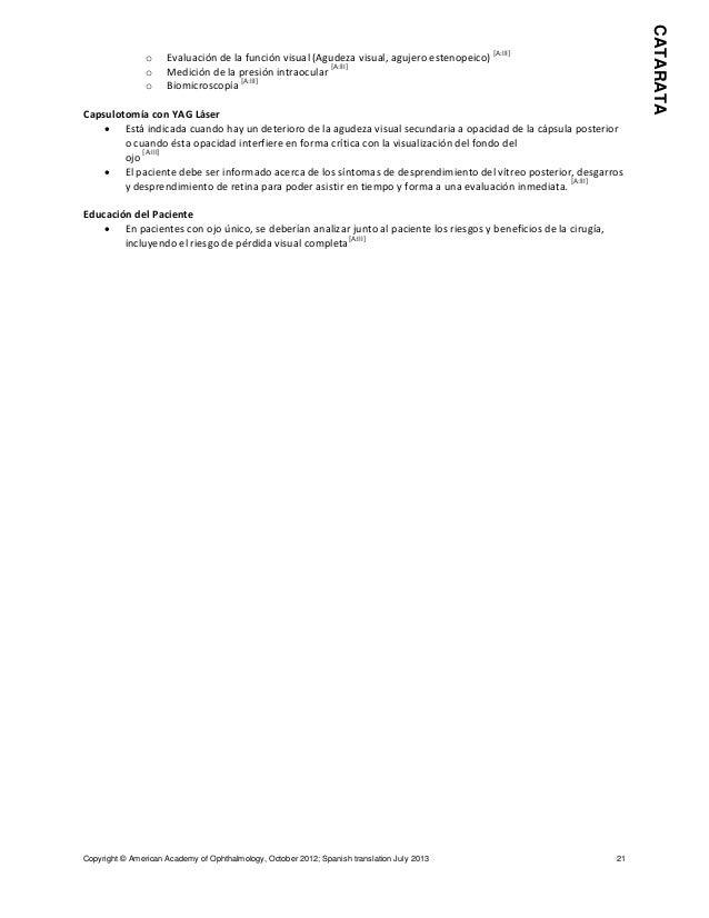 Resumen de los puntos de referencia para las guías de patrones de pr…