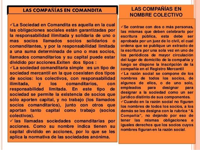 Resumen  de  los  tipos  de  sociedades  mercantiles  Slide 3