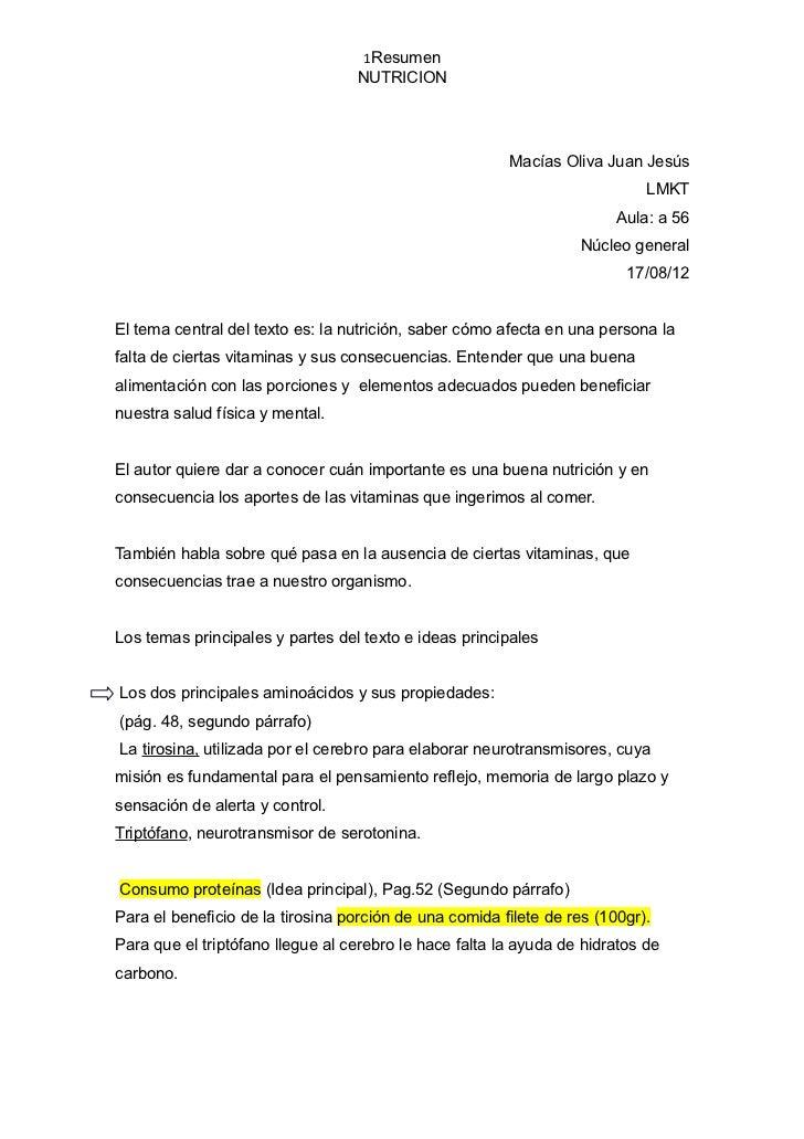 1Resumen                                  NUTRICION                                                        Macías Oliva Ju...
