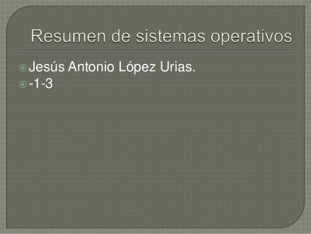 Jesús   Antonio López Urias. -1-3