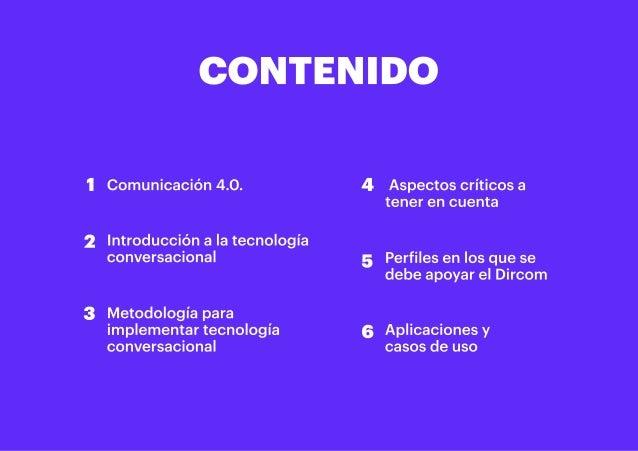 """""""Los retos del Dircom ante la tecnología conversacional"""" (Resumen ejecutivo) Slide 2"""