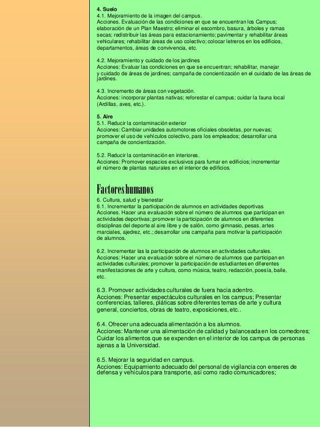 Resumen ejecutivo agenda para la sust universitaria uaaan for Usaid cv template