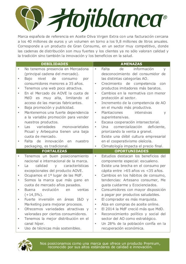 Marca española de referencia en Aceite Oliva Virgen Extra con una facturación cercana a los 40 millones de euros y un volu...
