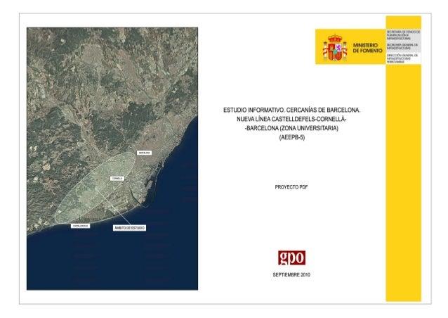 tramo A (Castelldefels-Gavà-Viladecans)_TRAZADO: Alternativa aprobada A3