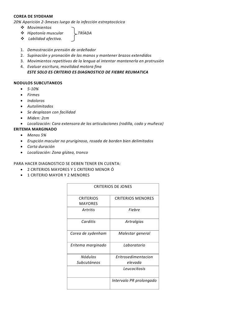 Resumen fiebre reumatica Slide 3