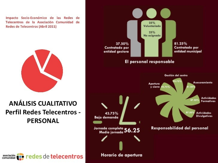 ANÁLISIS CUALITATIVOPerfil Redes Telecentros -        PERSONAL