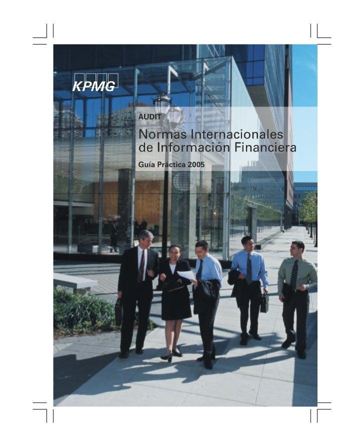 Normas Internacionales de Información Financiera 2005                Normas Internacionales de                   Informaci...