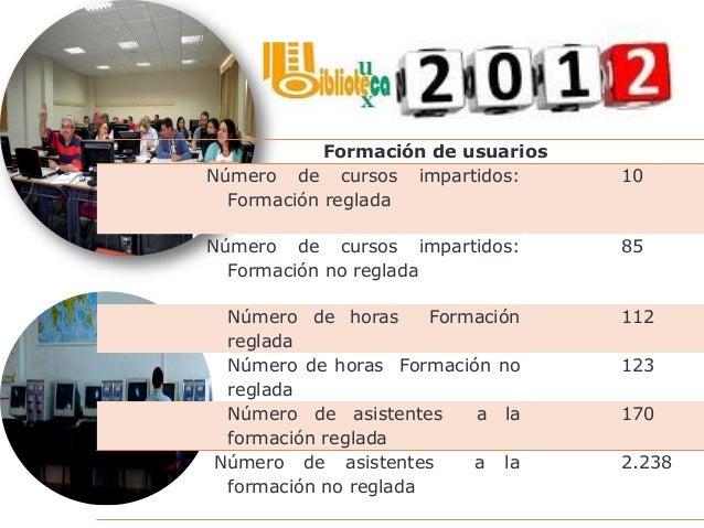 INDICADORES GENERALES 2012 Monografías en papel disponibles por usuario 15.90 Monografías-e por usuario 0.6 Revistas elect...
