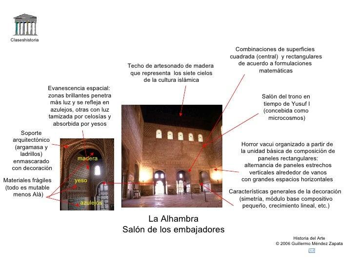 Resumen del arte musulm n y mudejar for Espejos rectangulares horizontales