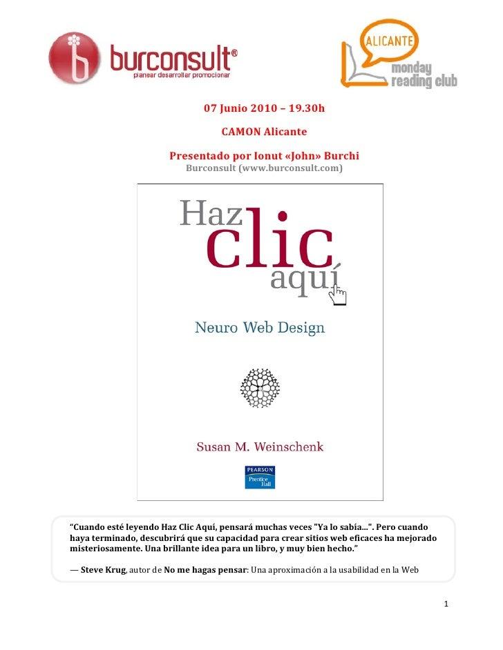 07 Junio 2010 – 19.30h                                      CAMON Alicante                          Presentado por Ionut «...