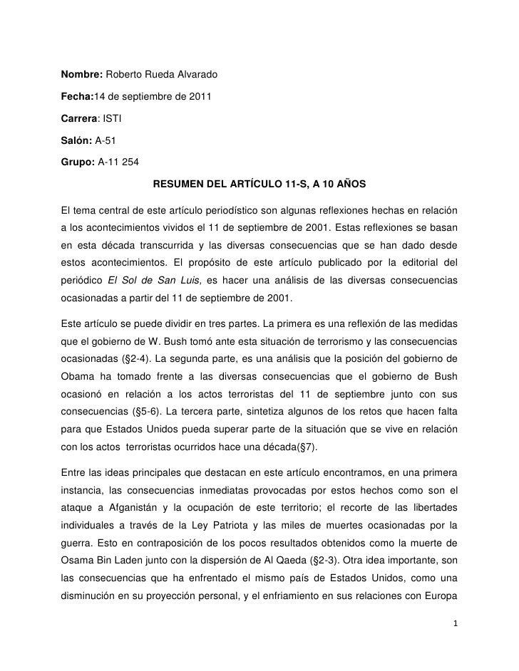 Nombre: Roberto Rueda Alvarado<br />Fecha: 14 de septiembre de 2011<br />Carrera: ISTI<br />Salón: A-51<br />Grupo: A-11 2...