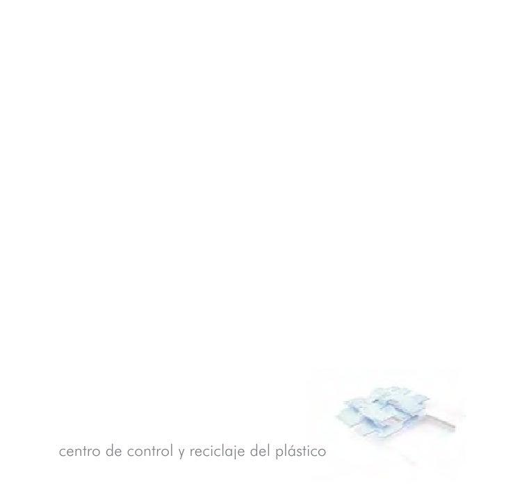 centro de control y reciclaje del plástico