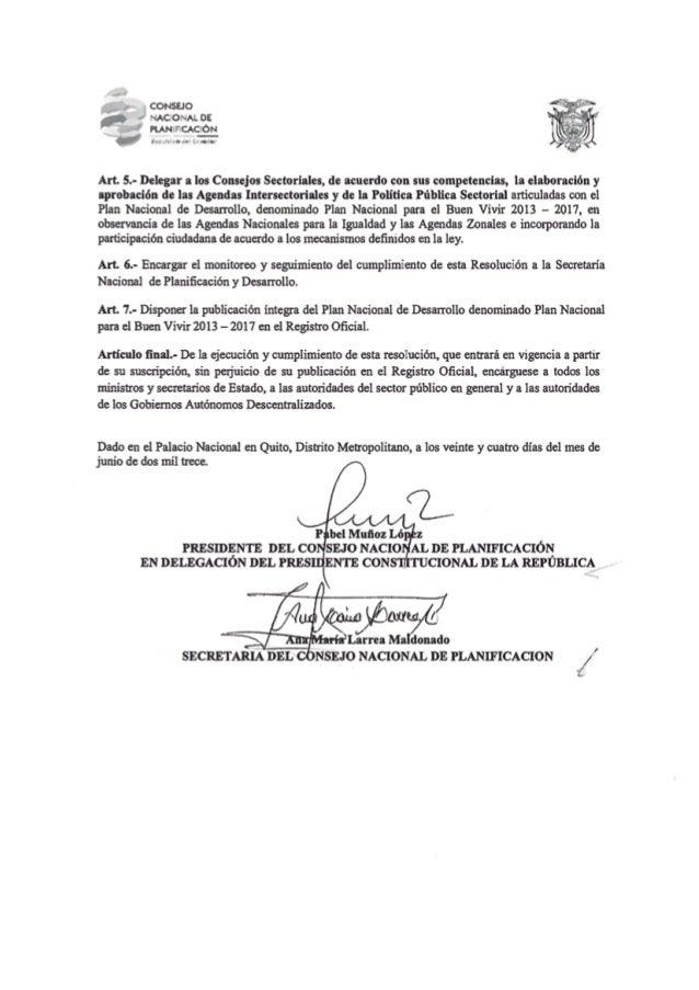 Resumen pnbv 2013 2017 español