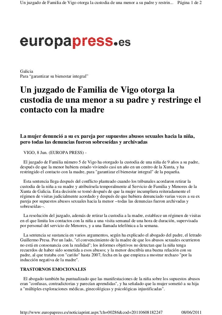 Resumen prensa general asemip 060611 for Juzgados de vinaroz